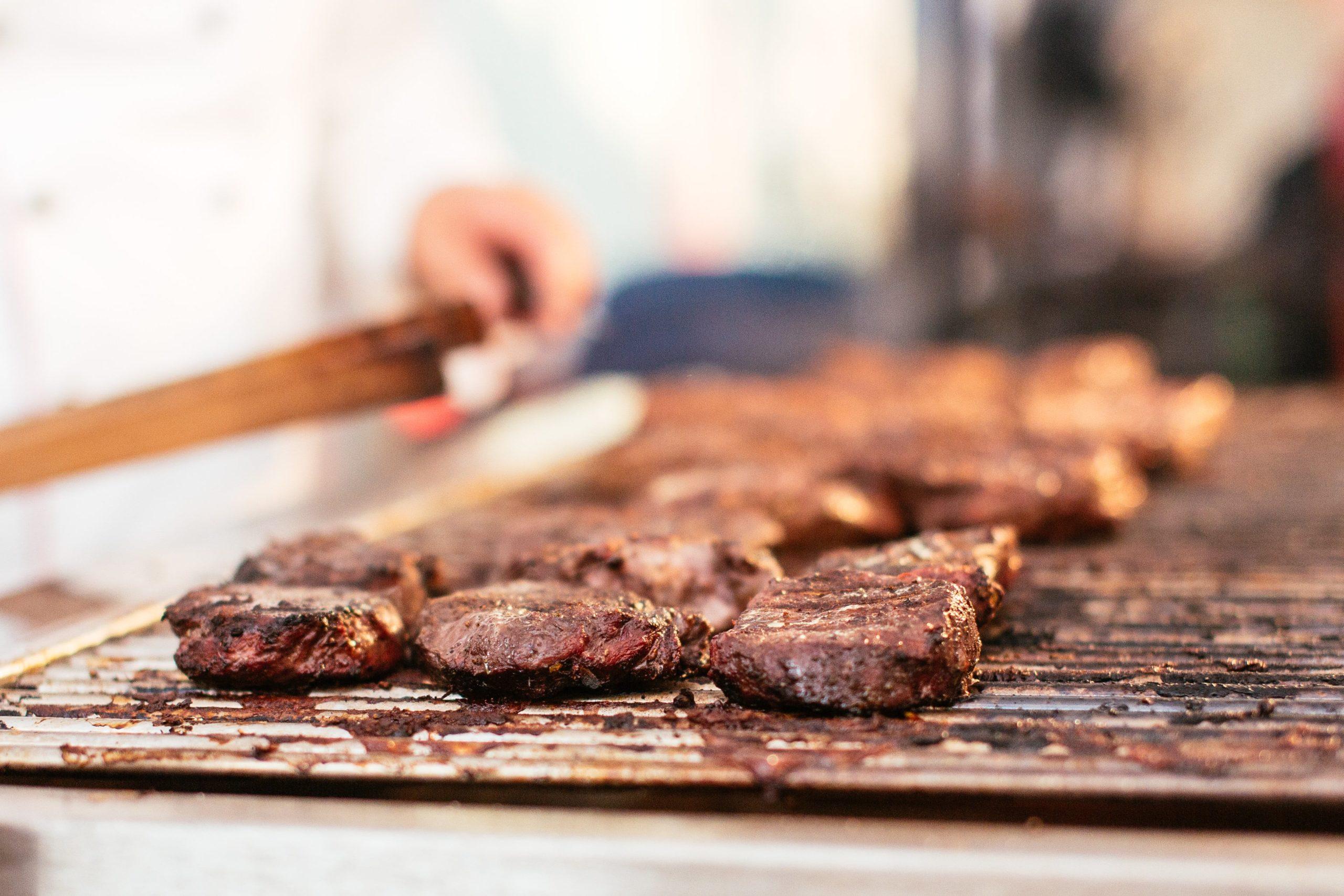 Grillbuffet von der Fleischerei Klare