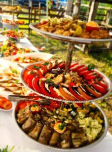 Vorspeisen von Göbra Catering